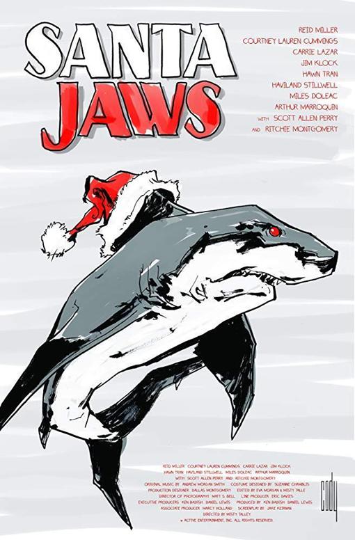 Carátula de Santa Jaws