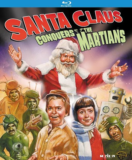 Carátula de Santa Claus conquista a los marcianos