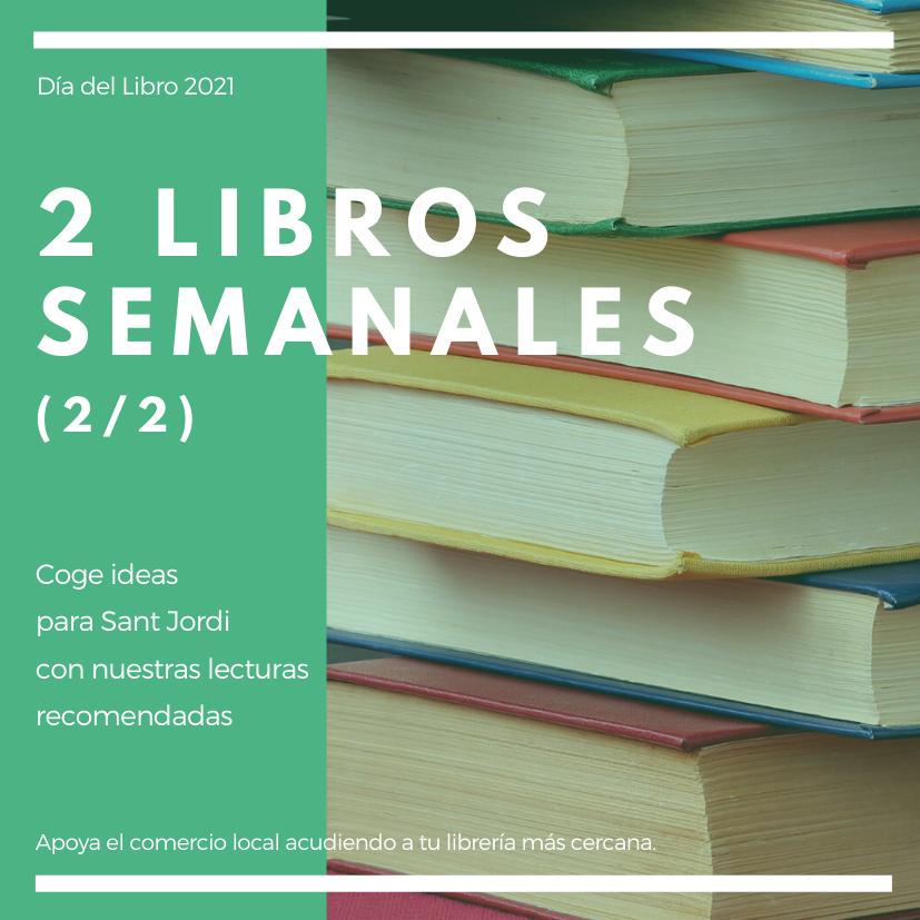 Libros recomendados para Sant Jordi